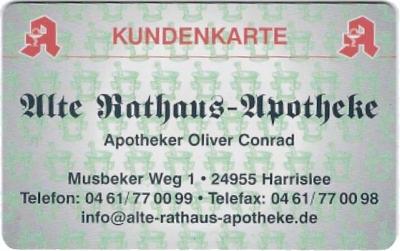 Kundenkarte Alte Rathaus-Apotheke